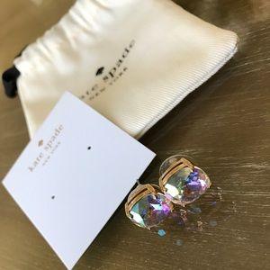 Kate Spade iridescent gumdrop stud earrings
